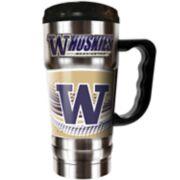 Washington Huskies Champ 20-Oz. Travel Tumbler Mug