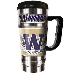 Washington Huskies Champ 20-Oz. Travel Tumbler Mug