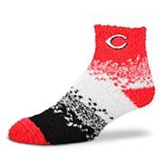 Women's For Bare Feet Cincinnati Reds Marquee Sleep Socks
