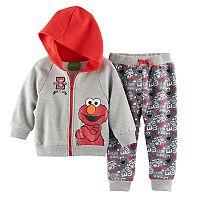 Baby Boy Sesame Street Elmo Hoodie & Pants Set