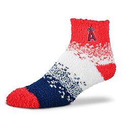 Women's For Bare Feet Los Angeles Angels of Anaheim Marquee Sleep Socks