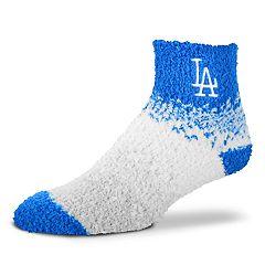 Women's For Bare Feet Los Angeles Dodgers Marquee Sleep Socks