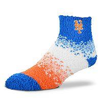 Women's For Bare Feet New York Mets Marquee Sleep Socks