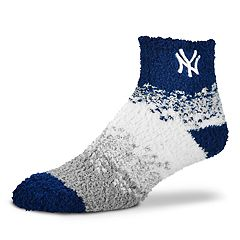 Women's For Bare Feet New York Yankees Marquee Sleep Socks