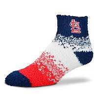 Women's For Bare Feet St. Louis Cardinals Marquee Sleep Socks
