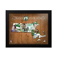 Boston Celtics State of Mind Framed Wall Art