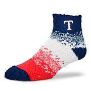 Women's For Bare Feet Texas Rangers Marquee Sleep Socks