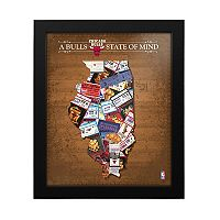 Chicago Bulls State of Mind Framed Wall Art