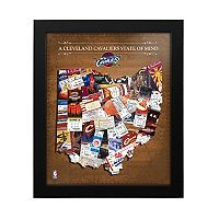 Cleveland Cavaliers State of Mind Framed Wall Art