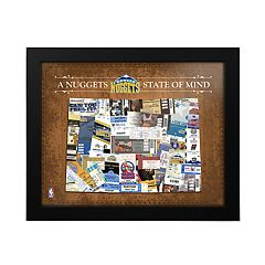Denver Nuggets State of Mind Framed Wall Art