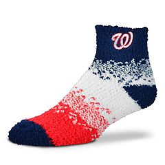 Women's For Bare Feet Washington Nationals Marquee Sleep Socks