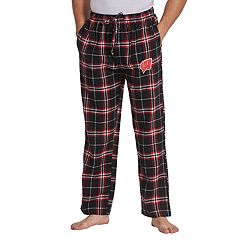 Men's Concepts Sport Wisconsin Badgers Huddle Lounge Pants