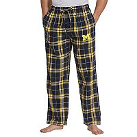 Men's Concepts Sport Michigan Wolverines Huddle Lounge Pants