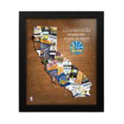 Golden State Warriors State of Mind Framed Wall Art