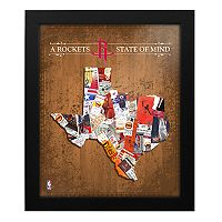 Houston Rockets State of Mind Framed Wall Art