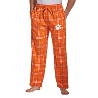 Men's Concepts Sport Clemson Tigers Huddle Lounge Pants