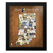 Indiana Pacers State of Mind Framed Wall Art