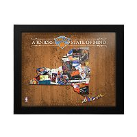 New York Knicks State of Mind Framed Wall Art