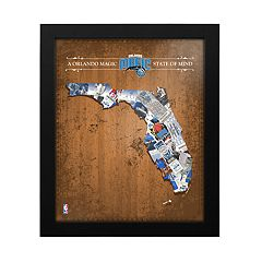 Orlando Magic State of Mind Framed Wall Art