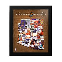 Phoenix Suns State of Mind Framed Wall Art