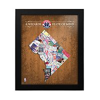 Washington Wizards State of Mind Framed Wall Art