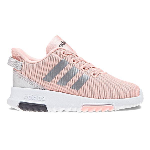 adidas NEO Cloudfoam Racer Toddler Girls' Sneakers