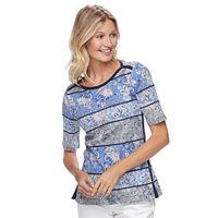Women's Croft & Barrow® Side-Button Top