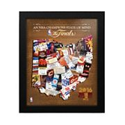 Cleveland Cavaliers 2016 NBA Champions State of Mind Framed Wall Art