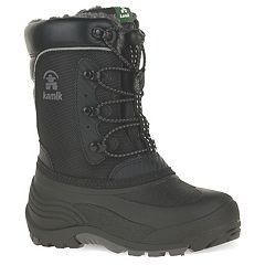 Kamik Luke Toddler Boys' Water Resistant Winter Boots