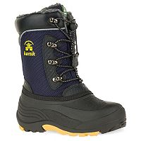 Kamik Luke Toddler Boys' Water Resistant Winter Boots