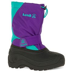 Kamik Snowfox Toddler Girls' Waterproof Winter Boots