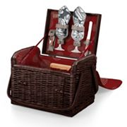 Picnic Time Kabrio Wine & Cheese Basket