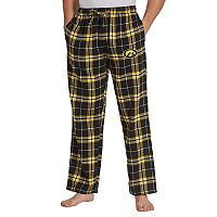 Men's Concepts Sport Iowa Hawkeyes Huddle Lounge Pants
