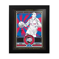 Los Angeles Clippers Chris Paul Famed Wall Art