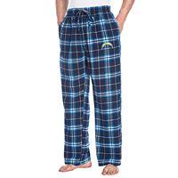 Men's College Concepts Los AngelesChargers Huddle Lounge Pants