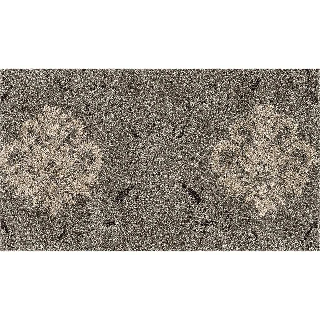 Loloi Enchant Bold Floral Medallion Shag Rug