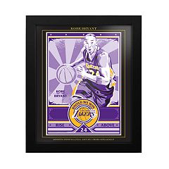 Los Angeles Lakers Kobe Bryant Famed Wall Art