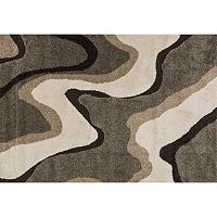 Loloi Enchant Contour Lines Shag Rug