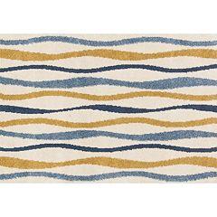 Loloi Enchant Wavy Lines Shag Rug