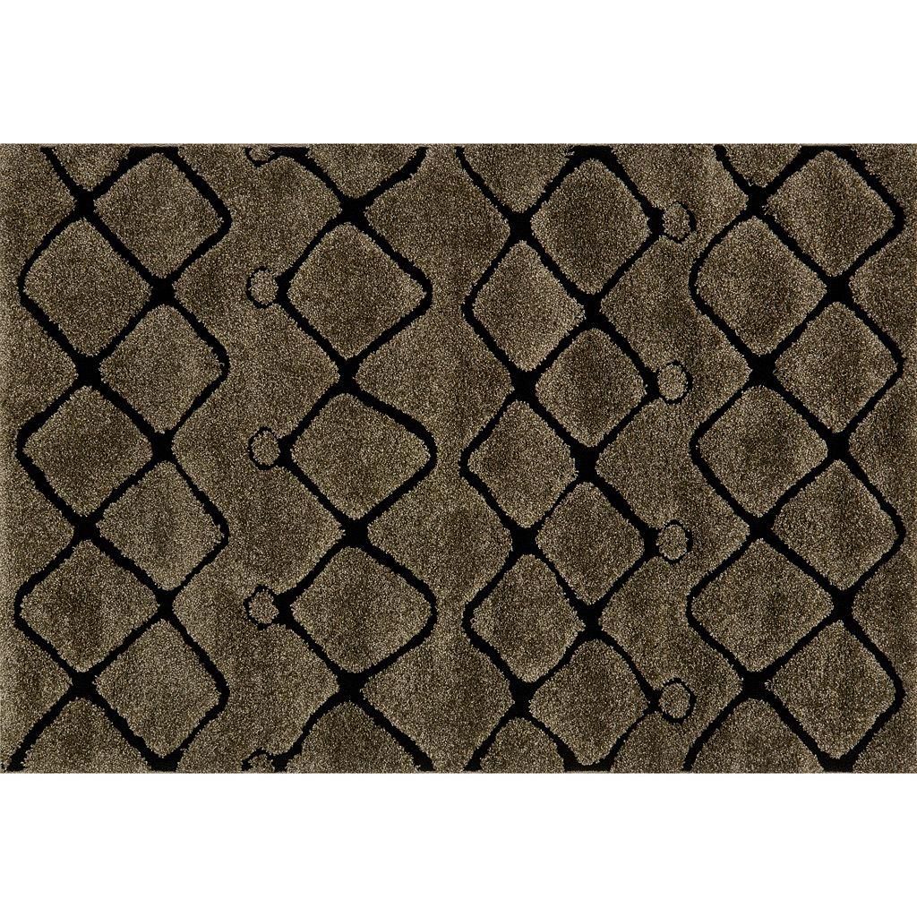 Loloi Enchant Zigzag Lines Geometric Shag Rug