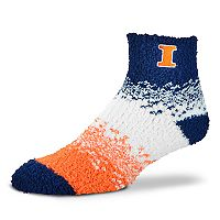 Women's For Bare Feet Illinois Fighting Illini Marquee Sleep Socks