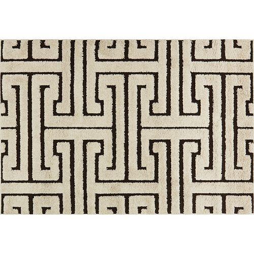 Loloi Enchant Greek Key Geometric Shag Rug