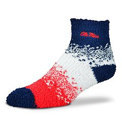 Women's For Bare Feet Ole Miss Rebels Marquee Sleep Socks