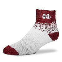 Women's For Bare Feet Mississippi State Bulldogs Marquee Sleep Socks