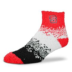 Women's For Bare Feet North Carolina State Wolfpack Marquee Sleep Socks