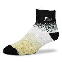 Women's For Bare Feet Purdue Boilermakers Marquee Sleep Socks