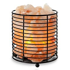 Tula Basket Himalayan Salt Lamp