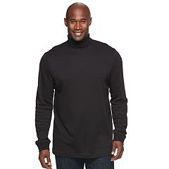 Big & Tall Croft & Barrow® Easy-Care Turtleneck