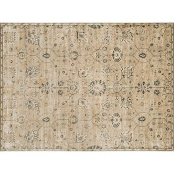 Loloi Nyla Distressed Traditional Floral Rug