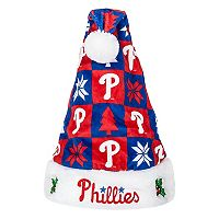 Forever Collectibles Philadelphia Phillies Christmas Santa Hat